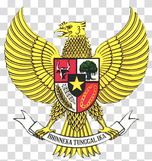 National emblem of Indonesia Pancasila Garuda, garuda. PNG clipart