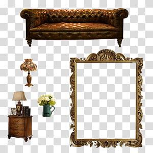 interior design elements PNG