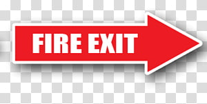 Arrow Emergency exit Exit sign Signage, Arrow PNG