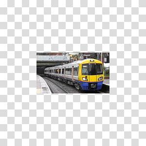Railroad car Train Rail transport Euston railway station Locomotive, train PNG clipart