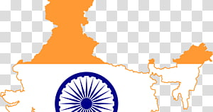 Indian flag map illustration, Indian Independence Day Republic Day 26 January, Bharat Mata PNG clipart