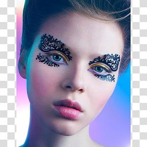 Eyelash extensions Eyebrow Face Cheek, Eye PNG clipart