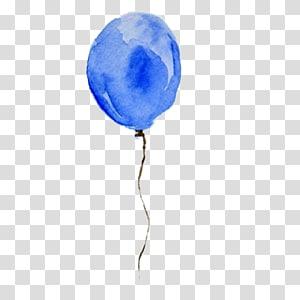 Albuquerque International Balloon Fiesta Blue Hot air balloon, Blue balloons PNG