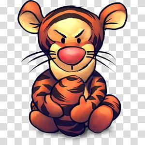 teddy bear art big cats carnivoran , TV Tigger, Winnie the Pooh Tigger illustration PNG clipart