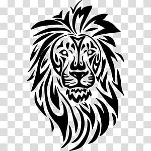 Lionhead rabbit Tattoo Drawing , lion PNG