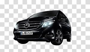 MERCEDES V-CLASS Mercedes-Benz Car Minivan Bumper, car sharing PNG clipart