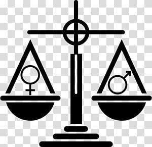 Gender symbol Gender equality Social equality, symbol PNG clipart