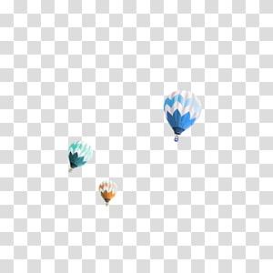 Parachute Balloon Airplane, parachute PNG