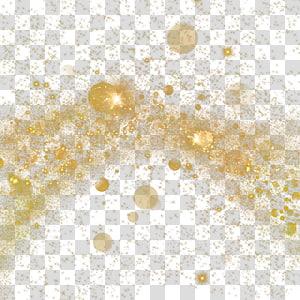 spot gold spot PNG