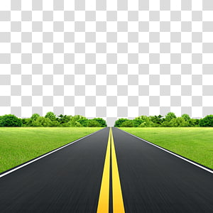 road between grass field , Lawn Road , Meadow,road PNG clipart