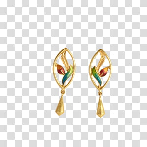 Earring Body Jewellery Colored gold Gemstone, Jewellery PNG clipart