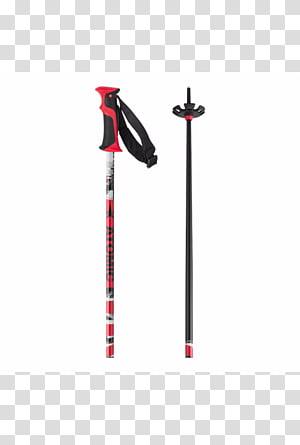 Ski Poles Alpine skiing Atomic Skis Red, Ski Poles PNG clipart
