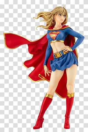Kara Zor-El Supergirl Bishoujo Statue Bishōjo 1/7 Scale DC Comics Bishoujo Supergirl Returns PVC Action & Toy Figures, dc comics PNG