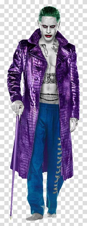 Jared Leto Suicide Squad Joker Harley Quinn Batman, dark knight el joker PNG