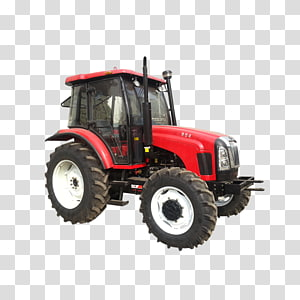 Tractor Motor vehicle Machine Diesel engine Retail, tractor PNG clipart