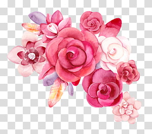 painting,flower PNG clipart