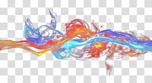 blue red flame PNG