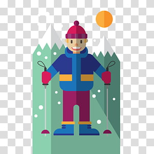 Winter sport Skiing Sporting Goods , Winter sports PNG clipart