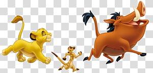 The Lion King Simba, Pumbaa and Timon illustration, Simba Pumbaa Nala The Lion King Timon, others PNG