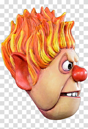 Heat Miser The Year Without a Santa Claus Nose Corvus Clothing and Curiosities Mouth, Heat Miser PNG