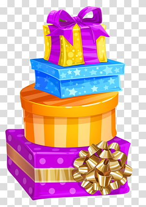 Christmas gift Box Birthday , birthday gift PNG clipart