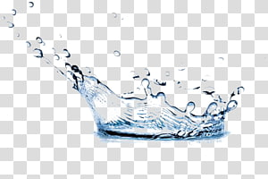 blue water droplets PNG