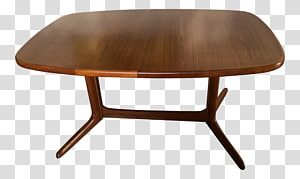 Coffee Tables Dining room Danish modern Matbord, table PNG