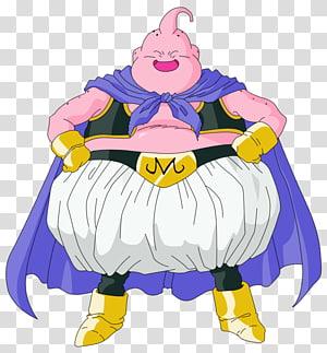 Majin Boo, Majin Buu Frieza Goku Piccolo Gotenks, fat PNG clipart