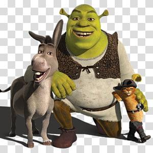 Donkey Shrek Puss in Boots Princess Fiona Lord Farquaad, donkey PNG