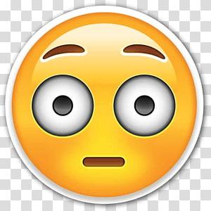 yellow emoticon, Emoji Emoticon WhatsApp, Emoji PNG