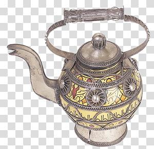Teapot Kettle Metal, Metal kettle PNG
