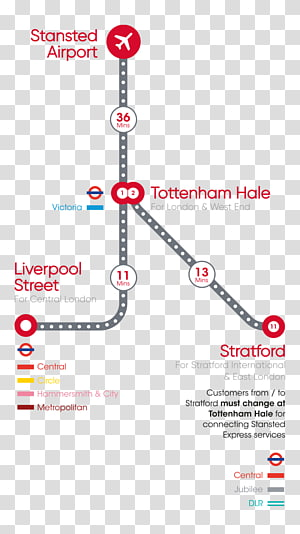 London Stansted Airport Liverpool Street station Central London Glasgow Airport London City Airport, train PNG clipart