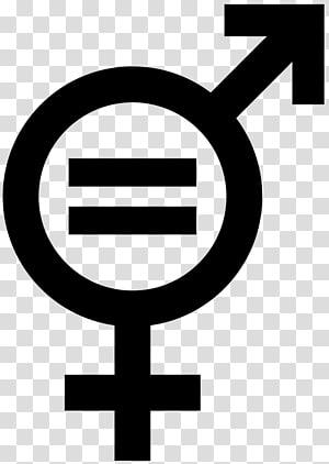 Gender equality Gender symbol Social equality, gender PNG clipart