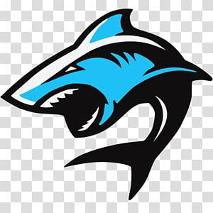 Shark Electronic sports Logo, shark PNG clipart