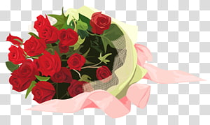 bouquet of red roses , Flower bouquet Garden roses , Roses Bouquet PNG