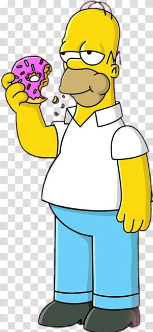 The Simpsons Homer Simpson, Homer Simpson Bart Simpson Mr. Burns Lisa Simpson Marge Simpson, Bart Simpson PNG