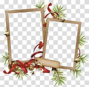 Christmas ornament Paper Frames , christmas PNG