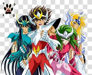 Pegasus Seiya Phoenix Ikki Saint Seiya: Knights of the Zodiac Cygnus Hyoga Saint Seiya: The Lost Canvas, Anime PNG clipart