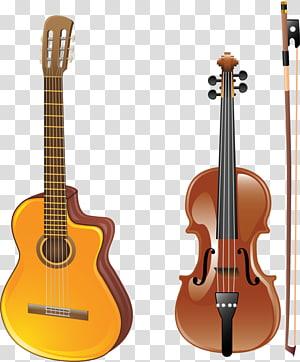 Musical instrument Violin Guitar, violin PNG