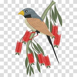 Bird Machine embroidery Sewing Pattern, Bird PNG