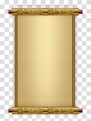 reel gold frame PNG