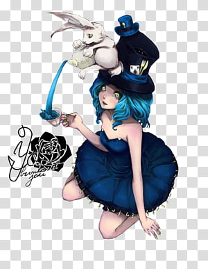 Mad Hatter Alice's Adventures in Wonderland March Hare White Rabbit Anime, Mad Hatter alice in wonderland PNG clipart