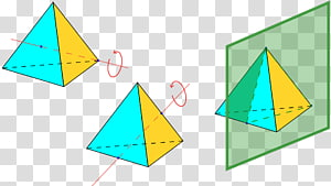 Tetrahedron Tetrahedral symmetry Rotational symmetry, Face PNG clipart