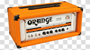 Guitar amplifier Orange Music Electronic Company Electric guitar Orange TH100, small lines PNG