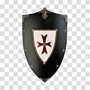Crusades Middle Ages Knights Templar Shield, Knight PNG