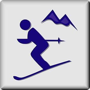 Alpine skiing , ski resort s PNG clipart