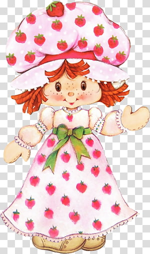 Strawberry Shortcake Paper doll Paper doll, doll PNG clipart