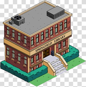 The Simpsons: Tapped Out The Simpsons Game Rainier Wolfcastle Building Marge Simpson, building PNG