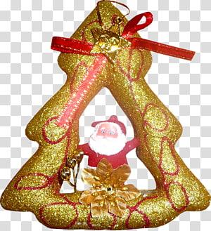 Christmas ornament Santa Claus Christmas Day New Year tree, santa claus PNG clipart