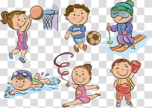 Sport , kids sports PNG clipart